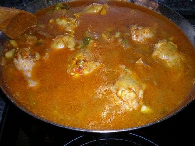 mezclaragua - ▷ Arroz con machacado de frutos secos 菱