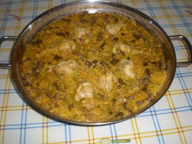 arrozlisto - ▷ Arroz con machacado de frutos secos 菱