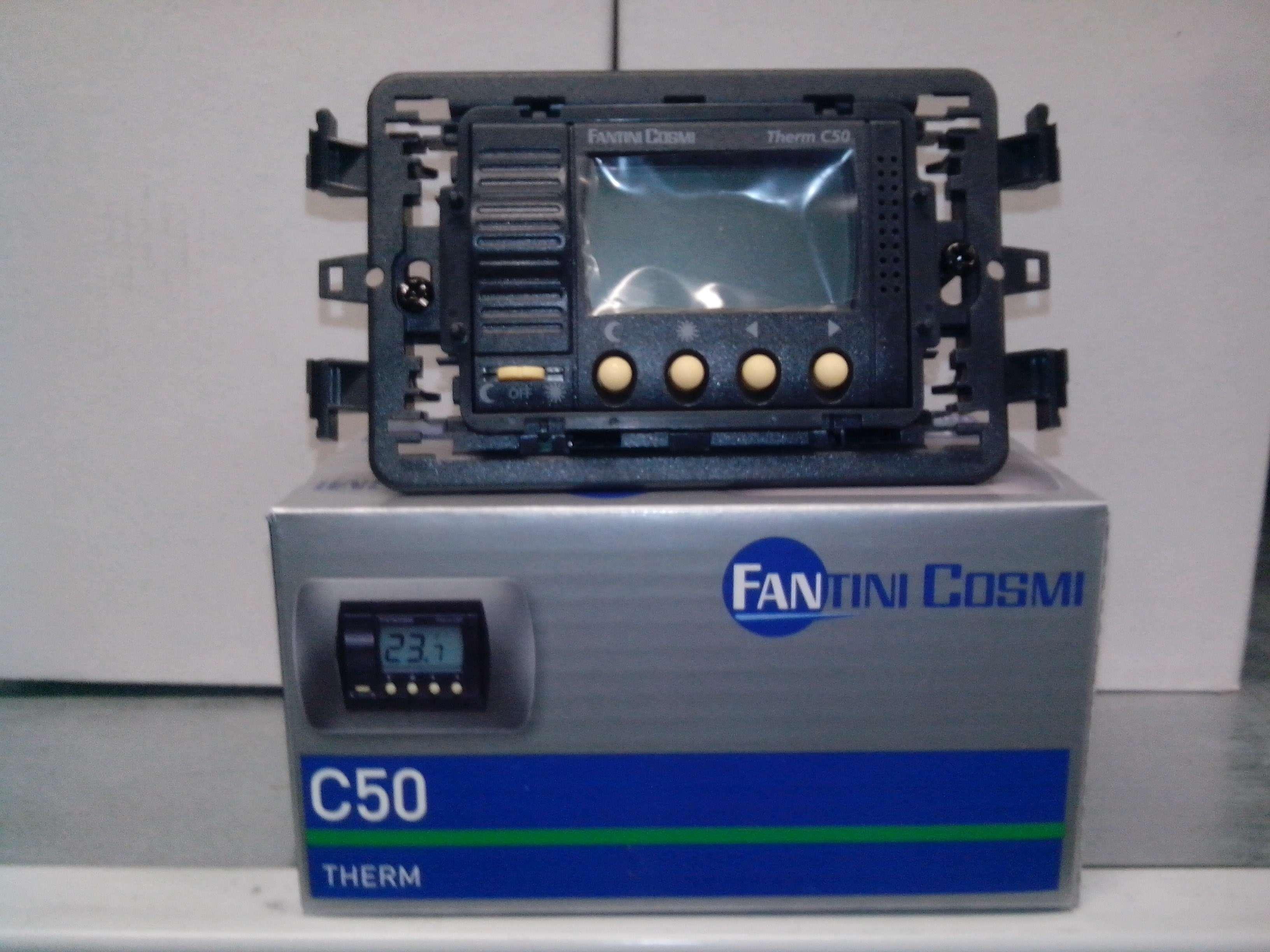 Il meglio di potere termostato ambiente digitale da incasso for Fantini cosmi c50