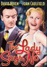 theladysaysnocover Frank Ross   The Lady Says No (1952)