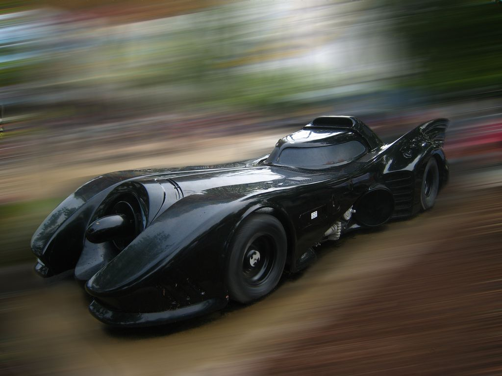 The Batmobile - Michael Keaton Version - AUTOCAR REGENERATION