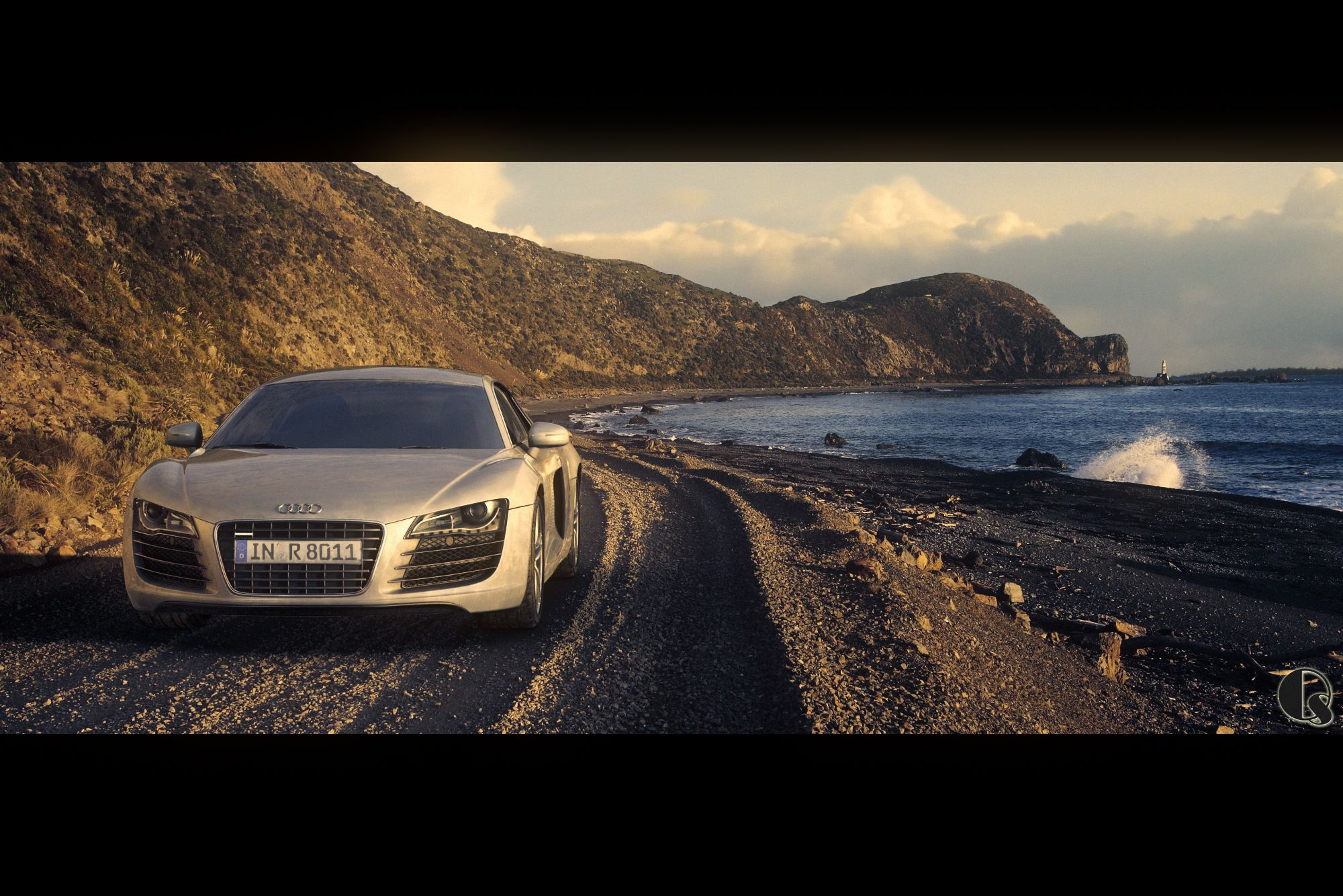 RENDERISM The Sunset Audi R - Sunset audi