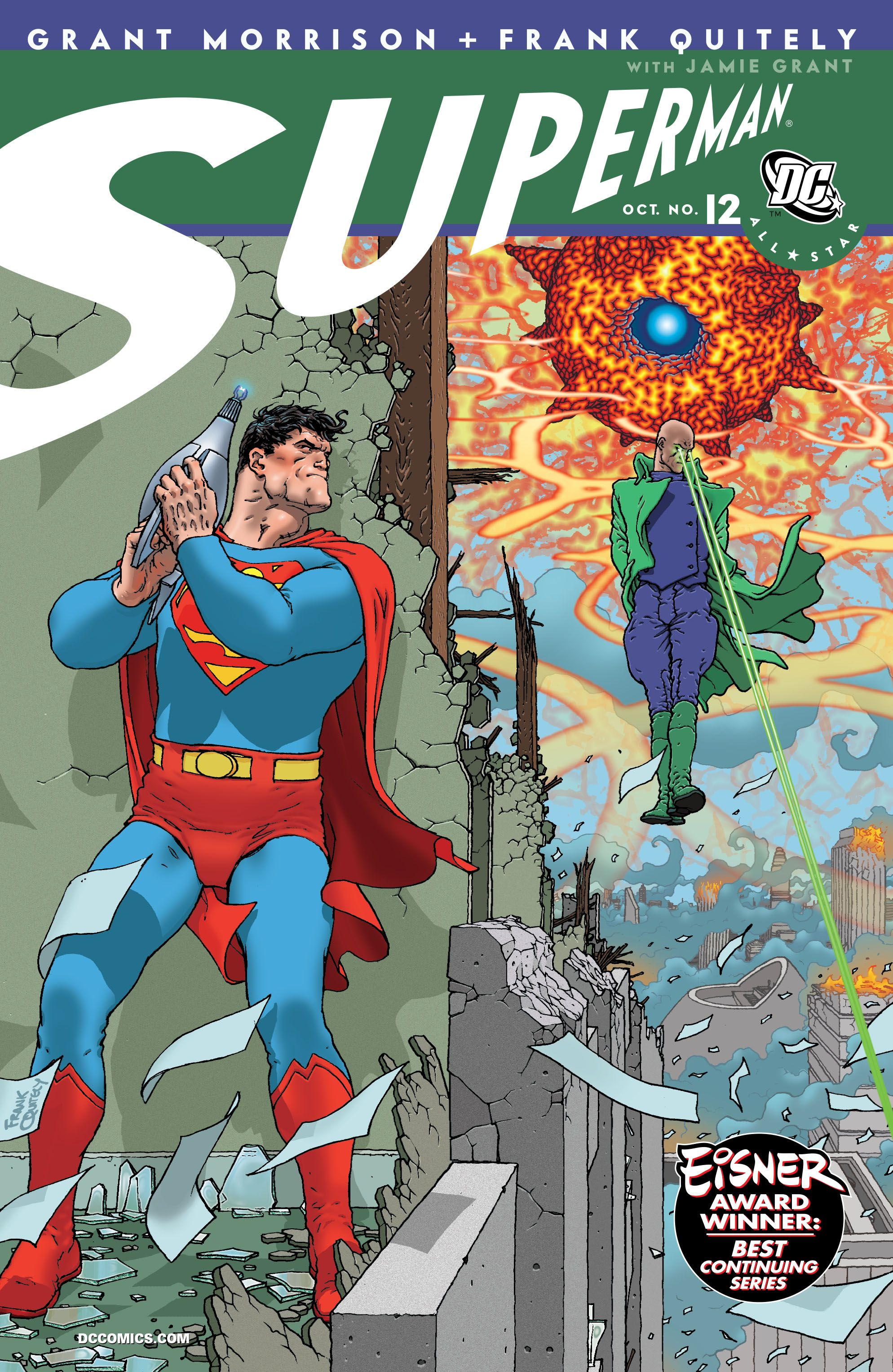 All Star Superman #1-12 (2006) (2011 Edition) Complete