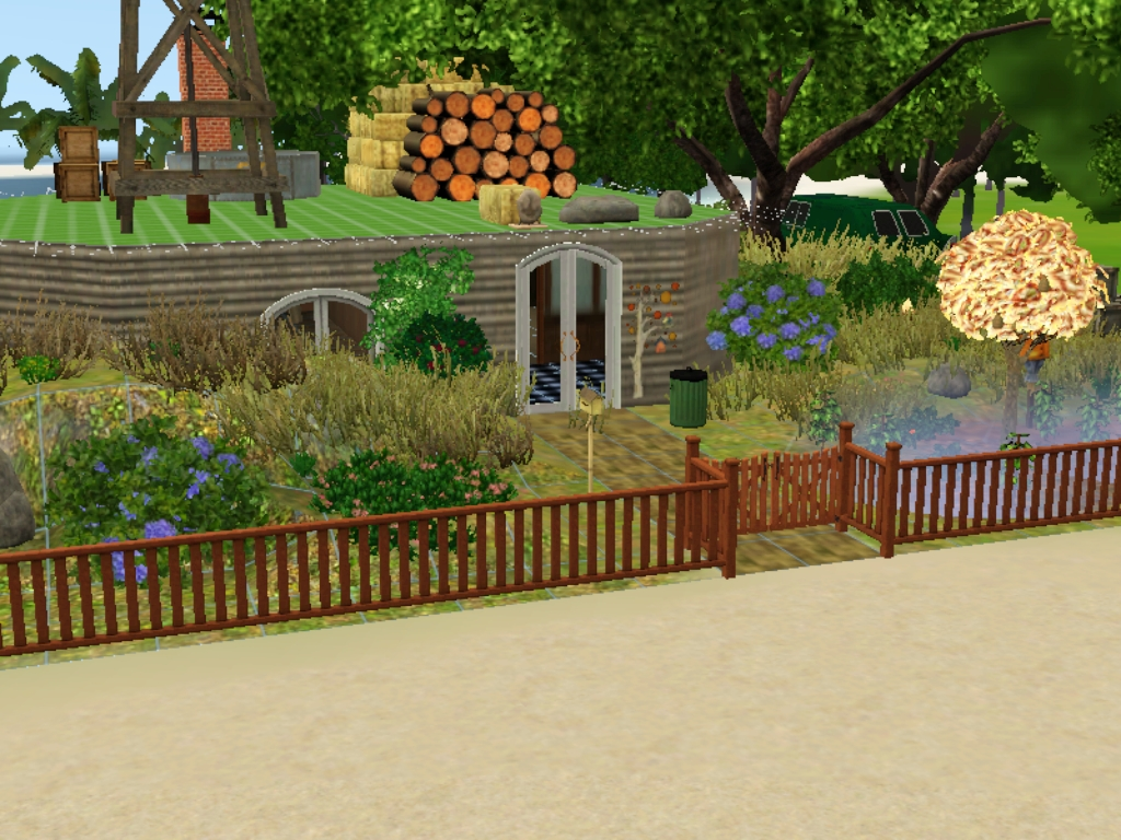 Forums - Community - The Sims 3 - Hobbit Houses Inspired
